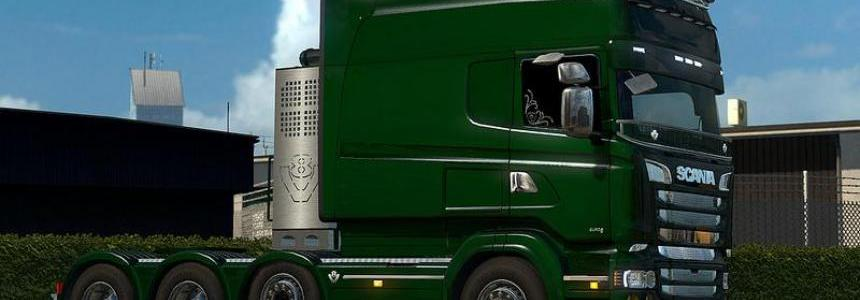 Scania R & Streamline Modifications v2.1 for v1.26