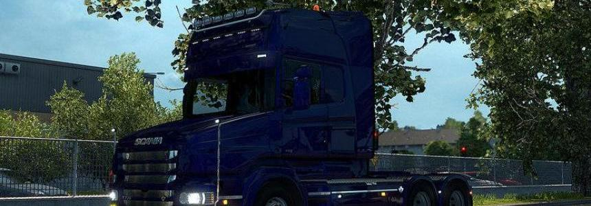 Scania T Mod V2.1 for ETS2 v1.26