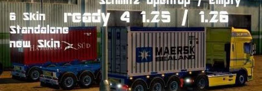 Schmitz 20ft Open Top Container UPDATE V1.3