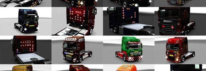 Signs for Truck v1.27.1 for ETS2