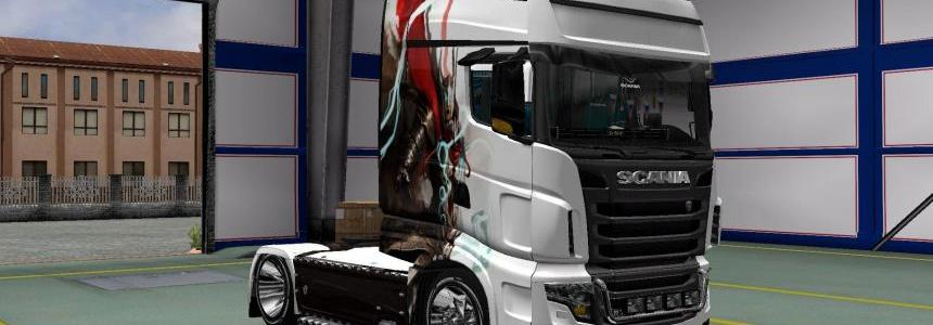Skin Pack Tor for Scania R, Streamline and R700