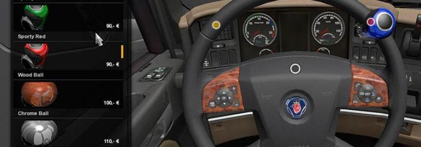 Steering Wheels Scania R & R Streamline Tuning