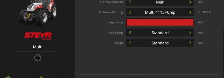 Steyr Multi + chiptuning v1.0