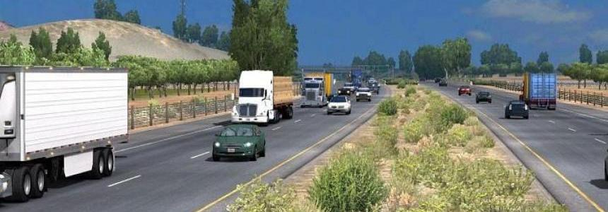 Traffic Mod for ATS v1.5 Fixed