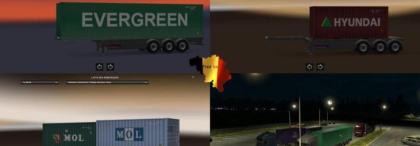 Trailer Pack Container #1 V1.25 [Dirty] 1.25.x