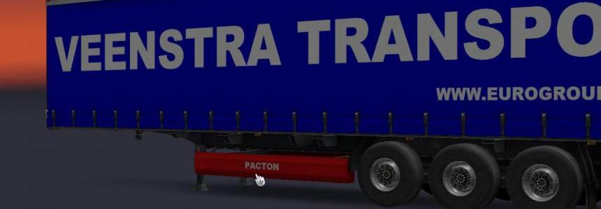 Trailer pacton from veenstra transport heeg