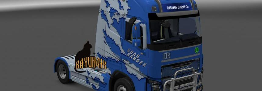 Volvo FH16 2013 by OHAHA Road Ranner skin 1.25