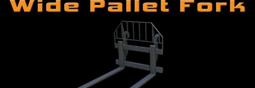 Wide Pallet Fork v1.0