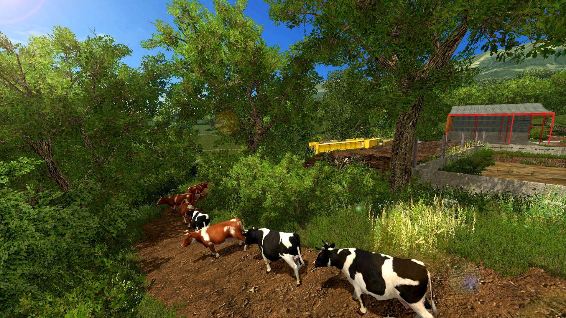 Knaveswell Farm V Modhubus - Farming simulator 2015 us map feed cows