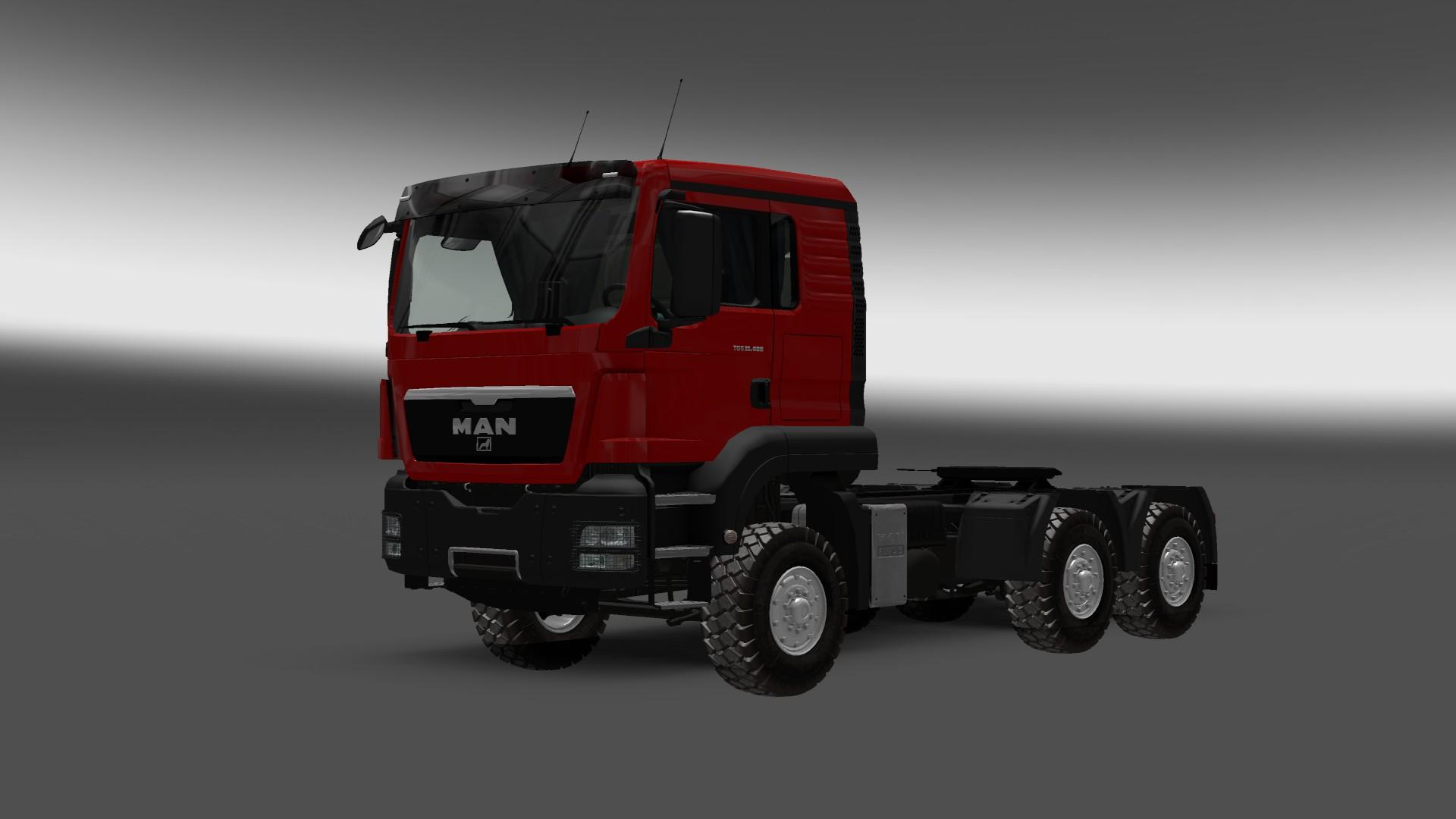 MAN TGS 6x6 Heavy Off Road v1