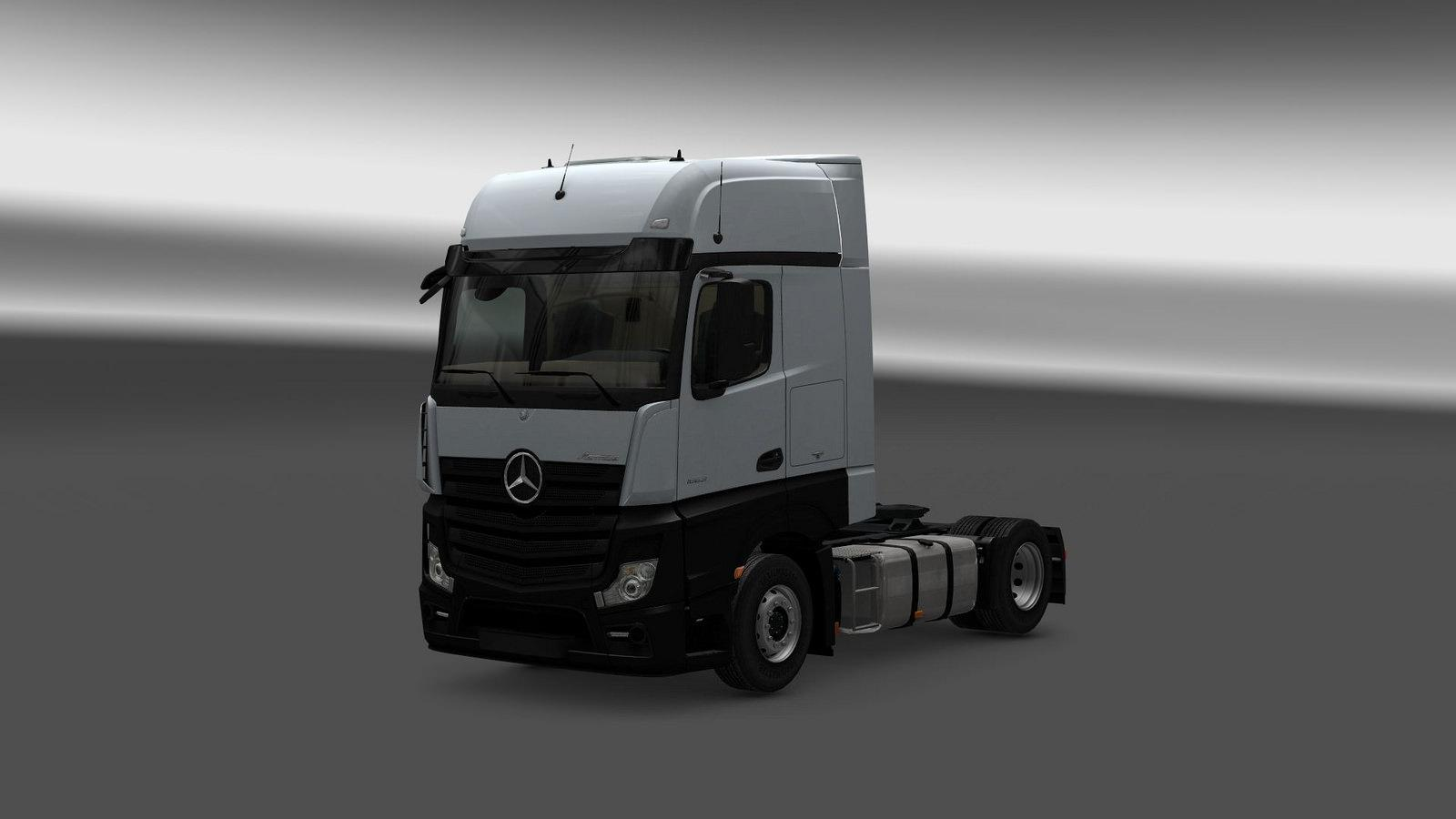 Mercedes Actros MP4 Reworked v1.0
