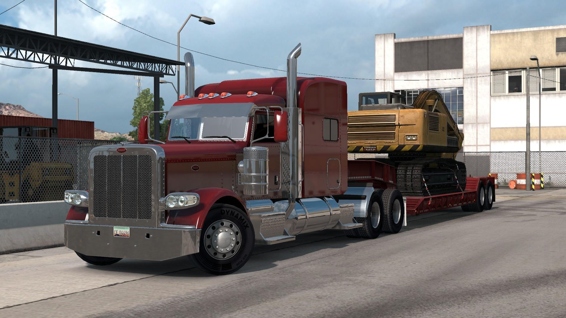 Seat Skins For Trucks >> Peterbilt 389 interior/exterior rework v1.0 - Modhub.us