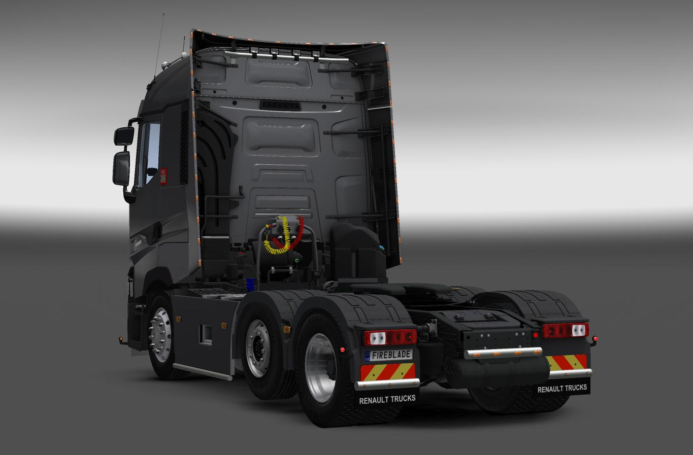 Renault T New interior v6.0 1.25.x - 1.26.x - Modhub.us