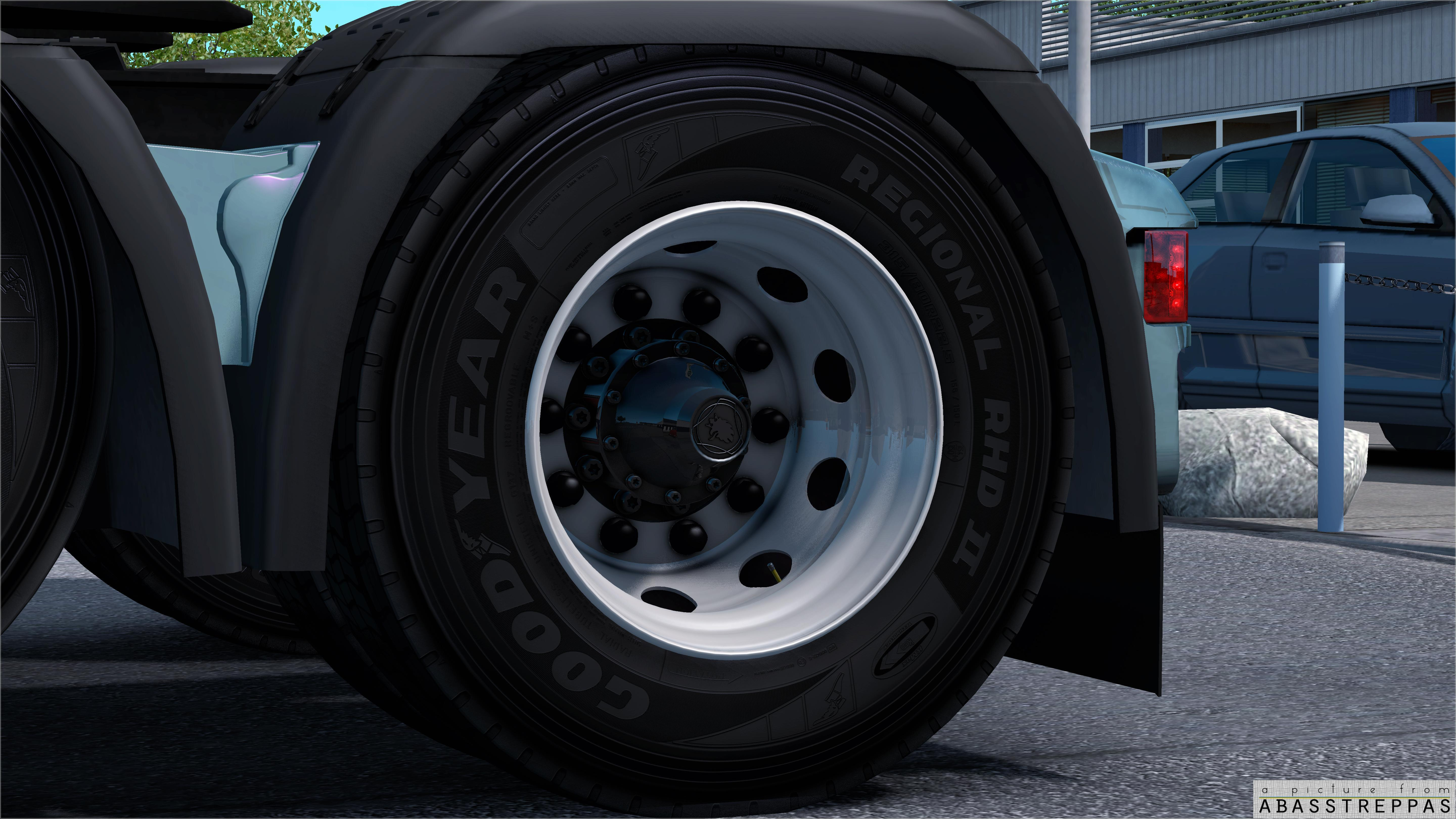 Rims and tyres by abasstreppas