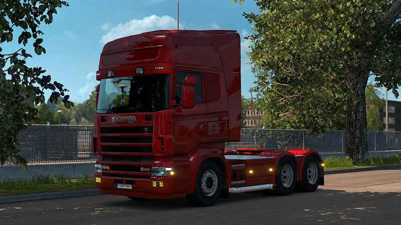 Scania 4 Series Addon for RJL Scanias