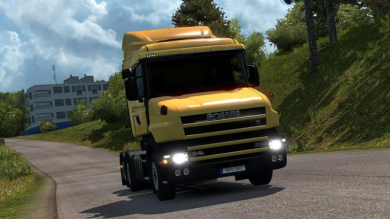 Scania T4 series addon for RJL Scanias v2.1
