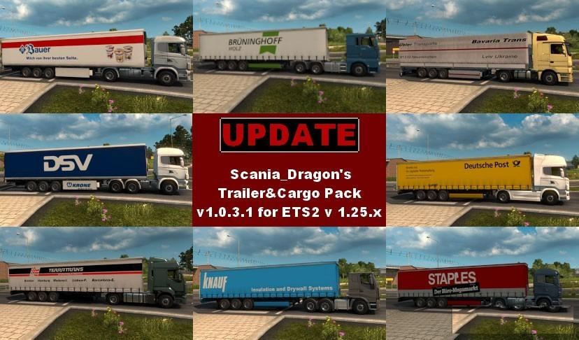 SDMods Trailer & Cargo Pack v 1.0.3.1 (Fix&Update)
