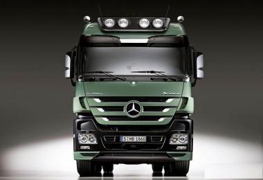 Mercedes Benz Actros MPIII OM502LA V8 Sound