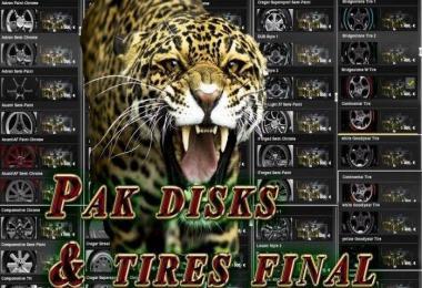 Mega Pak disks & tires