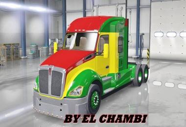 ALL TRUCKS 625HP + bumber + peterbilt 389 sound + exhaust pipes