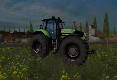 Deutz Agrotron X720 black wheels v1.1