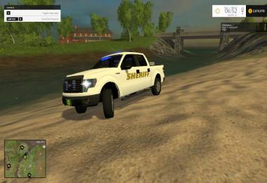 Ford f150 Sheriff with lightbar v1.0