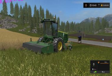 John Deere W260 Windrower v1.1