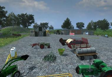 MR FS13 Vehicle and Tool Pack for vintage fans