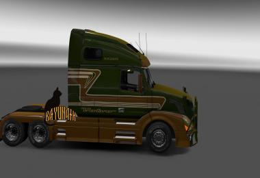 Volvo VNL670 custom metallic skin 1.25