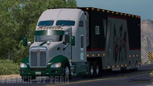 Tractocamion Kenworth T660 (for ats v1.4)