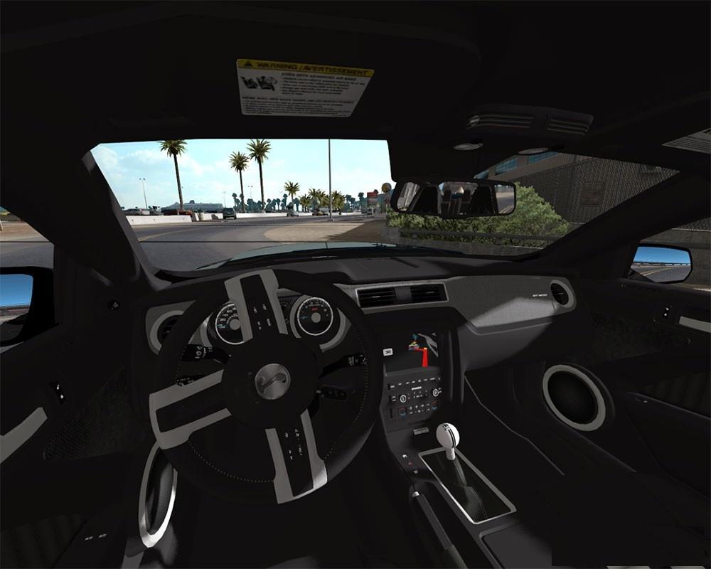 Shelby Gt500 For American Truck Simulator Modhub Us