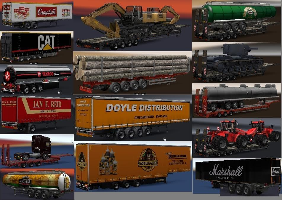 Chris45 Trailers Pack v 9.00