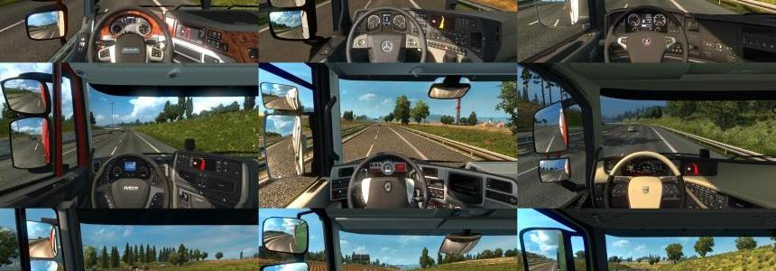 Real Interior Cams ETS2 v1.3.5