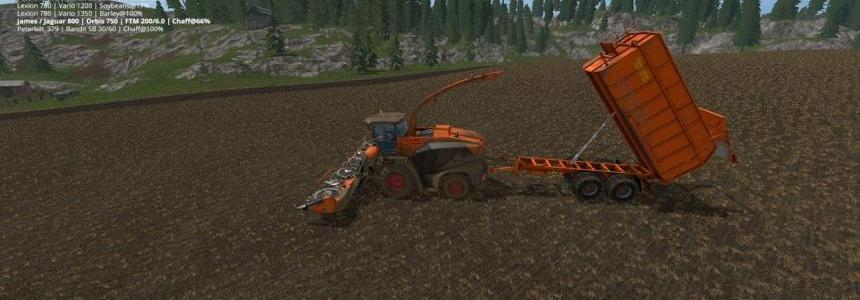 Claas Jaguar 800 Pack And Fortuna FTM200 v2