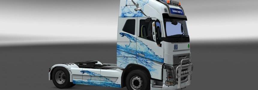 Volvo FH16 2013 Water Skin v1.0