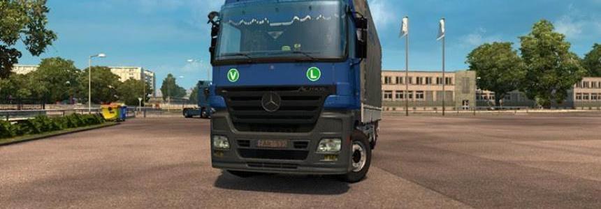 Mercedes Actros 1844 MPII Tandem v1.0
