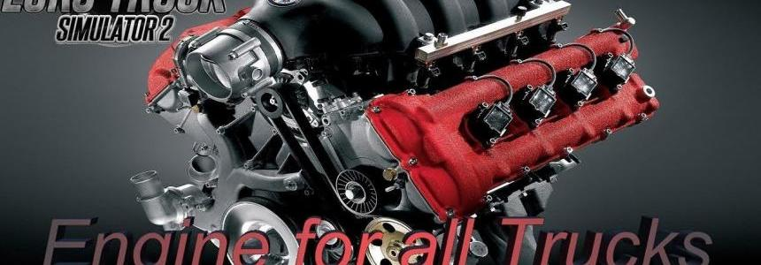 850 – 1000 hp Engine for all Trucks