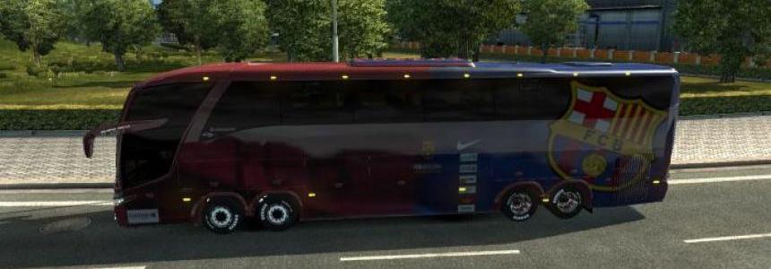 Bus Marcopolo G7 1600LD FC Barcelona v1.26
