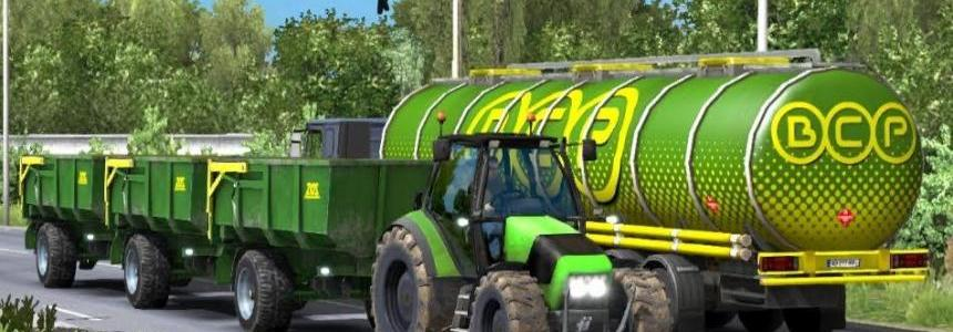 Tractor and Trailer with Sounds v2.1