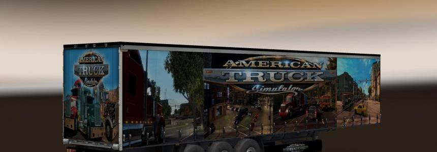 American Truck Simulator Trailer v1.0