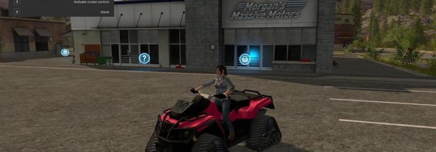 Atv crawler converted for fs17 v0.9