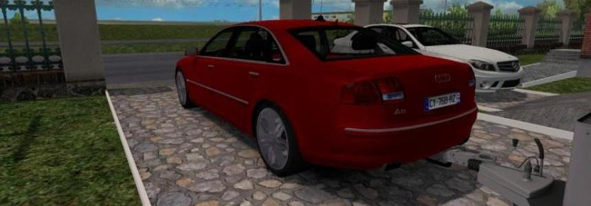 Audi A8 by Diablo + Template