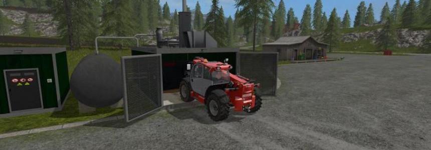 Biogas Hofanlage v1