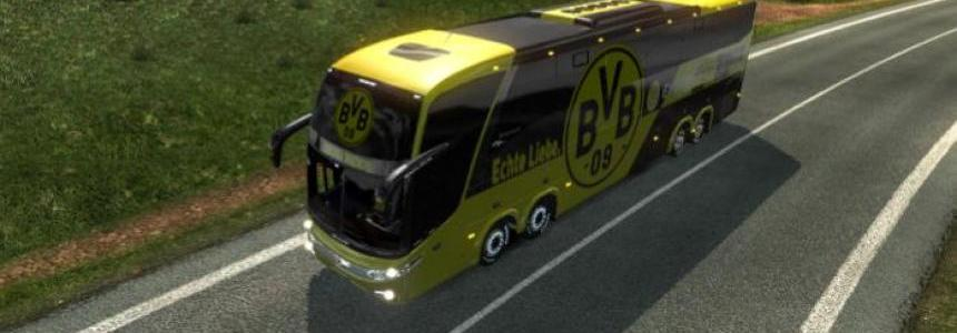 Bus Marcopolo G7 1600LD Borussia Dortmund Skin 1.26