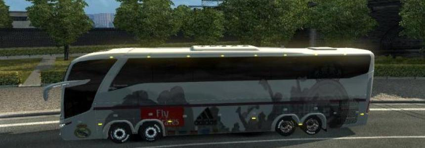 Bus Marcopolo G7 1600LD Real Madrid v1.26