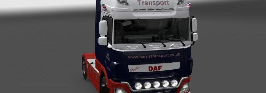 DAF XF E6 Harris Transport skin 1.26