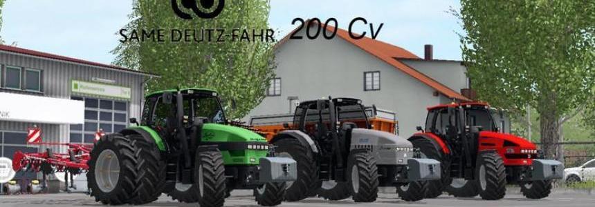 Deutz Fahr SDF 200HP v1.0