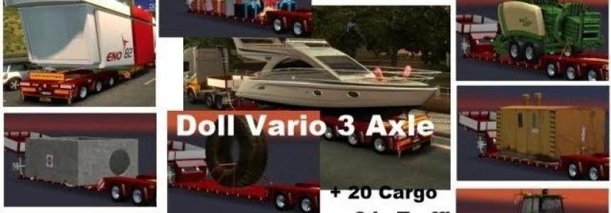 Doll Vario 3 Axle with new Backlight and in Traffic v5.1
