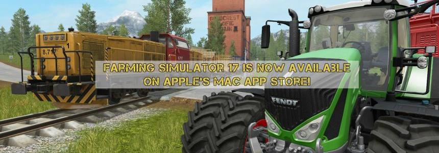 Farming Simulator 17 is now available on Apple's Mac App Store