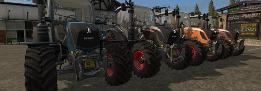 Fendt Package with choise of colour v1.0